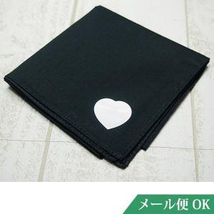 礼装用 ハンカチ 黒 日本製 コットン フォーマル お受験 入学式 卒業式 葬儀 お通夜 法事 kh08|minotofu