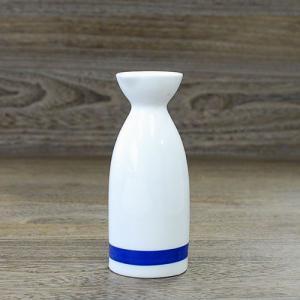 MARUSHIN 美濃焼 きき酒徳利 一本線 シンプルな形状|minoyakisquare