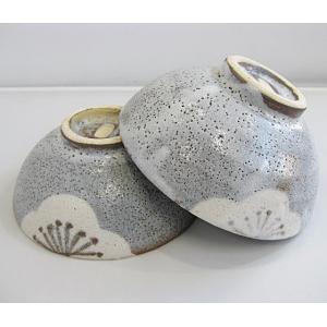 碗碗館 美濃焼 国産 手造り 鼠志野梅 茶碗揃い 20%OFF ラッピング可|minoyakisquare