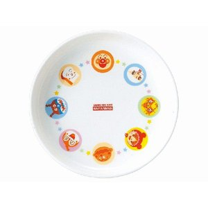 金正陶器 美濃焼 アンパンマン 強化軽量丸皿|minoyakisquare