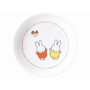 金正陶器 美濃焼 ミッフィー 強化軽量丸皿|minoyakisquare