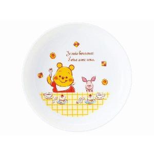 金正陶器 美濃焼 くまのプーさん 強化軽量丸皿|minoyakisquare