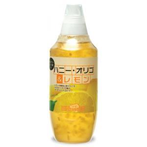ミントハウス ハニー・オリゴ&レモン 480g×12本入り はちみつ・オリゴ糖使用 レモン果汁・果皮入り|minthouse