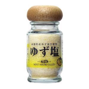 ミントハウス ゆず塩 50g 高知県産ゆず果汁使用 粗塩|minthouse
