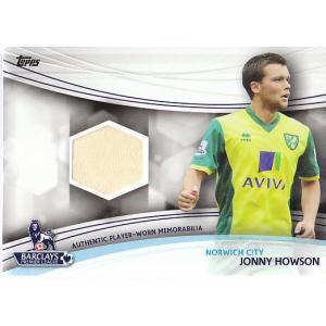 13 PREMIER GOLD JONNY HOWSON ジャージカード 黄 |mintkashii