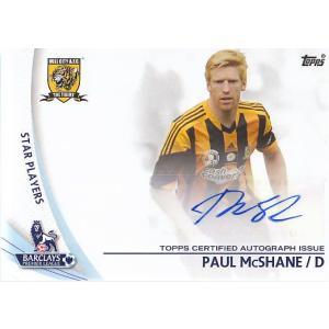 13 PREMIER GOLD PAUL McSHANE 直筆サインカード|mintkashii