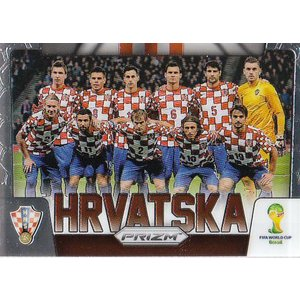14 PANINI PRIZM WORLD CUP TEAM PHOTOS #20 クロアチア