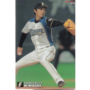 17カルビープロ野球チップス第2弾 #074 増井浩俊 mintkashii