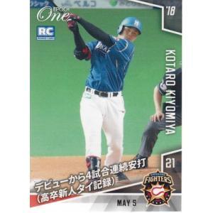 EPOCH One #162 清宮幸太郎 2018.5.5 デビューから4試合連続安打(高卒新人タイ記録)|mintkashii