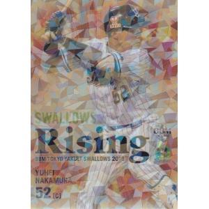 18BBM ヤクルトスワローズ 中村悠平 SWALLOWS Rising パラレル 50枚限定|mintkashii