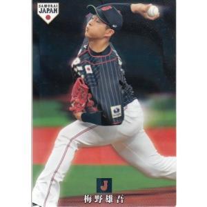 19カルビー侍ジャパンチップス レギュラー SJ-04  梅野雄吾|mintkashii