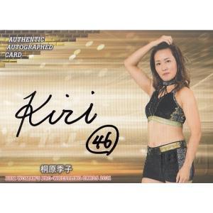 21BBM 女子プロレスカード 桐原季子 直筆サインカード 99枚限定|mintkashii