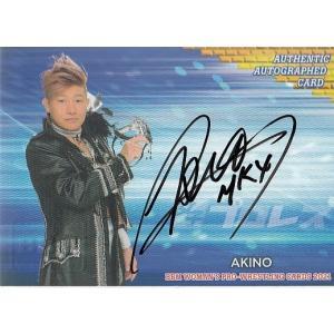 21BBM 女子プロレスカード AKINO 直筆サインカード 100枚限定|mintkashii