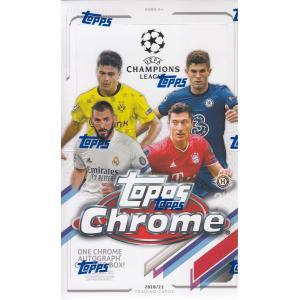 サッカーボックス 2020-21 TOPPS CHROME CHAMPIONS LEAGUE|mintkashii