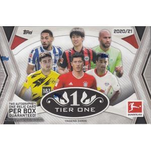サッカーボックス 2020-21 TOPPS TIER ONE BUNDESLIGA|mintkashii