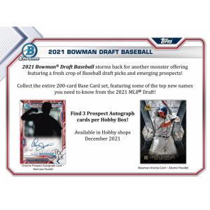 MLBボックス 2021 BOWMAN DRAFT HOBBY|mintkashii