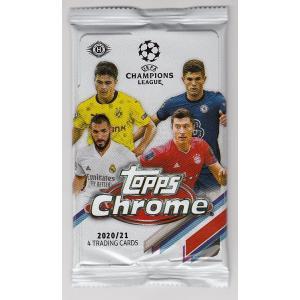 サッカーパック 2020-21 TOPPS CHROME CHAMPIONS LEAGUE|mintkashii