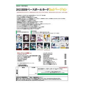 プロ野球ボックス 2021 BBM ベースボールカード2ndバージョン|mintkashii
