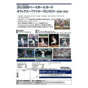 プロ野球ボックス 2021 BBM オリックス・バファローズ ヒストリー 1936-2021 mintkashii