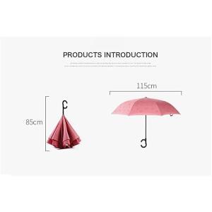 傘逆さ傘晴雨兼用UVカット遮光レディースメンズ日傘男女兼用さかさま傘逆さま傘逆向き逆さまの傘折りたたみ自動開閉おしゃれ折りたたみ傘|minto