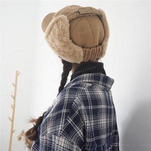 帽子レディースファッション冬小物耳当て寒さ対策防寒道具真冬にも頼れる今季のファールック可愛い|minto