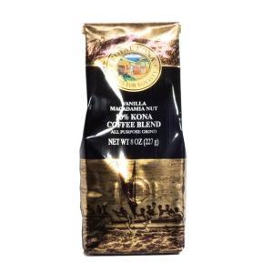 【商品情報】 ロイヤル・コナ バニラ・マカダミアナッツ 227g フレーバーコーヒーでは定番の天然素...