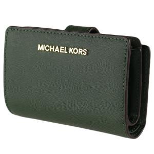 hot sale online 03f55 bb757 マイケルコース 折りたたみ財布 MICHAEL KORS 35f7gtvf2l グリーン系