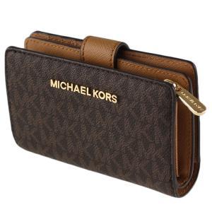 cheaper 31a30 a8be2 マイケルコース 折りたたみ財布 MICHAEL KORS 35f8gtvf2b ブラウン系