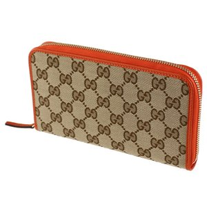 first rate d452c d63a8 グッチ 長財布 GUCCI 363423 KY9LG ベージュ×オレンジ系
