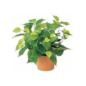 人工観葉植物 光触媒 ライムポトス 造花 フェイクグリーン フェイクフラワー 消臭 抗菌 防汚 置き物 インテリア ギフト プレゼント かわいい|miracle-house