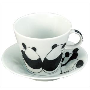 カップ 九谷焼 カップ&ソーサー パンダ コーヒーカップ 紅茶 来客用 かわいい コップ マグ コーヒー 結婚式引出物 陶器 和食器 おしゃれ 人気|miracle-house