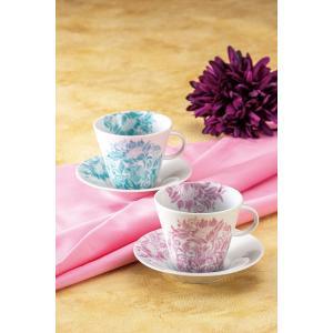カップ 九谷焼 ペアコーヒー 向日葵紋様 コーヒーカップ 紅茶 来客用 かわいい コップ マグ コーヒー 結婚式引出物 陶器 和食器 おしゃれ 人気|miracle-house
