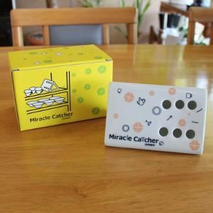 ミラクルキャッチャー 食器棚用 (ピンク)|miraclehonpo
