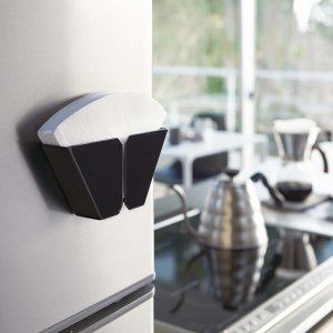 マグネットコーヒーペーパーフィルターホルダー タワー ブラック キッチン用品 収納 2978 YZ mirage-style