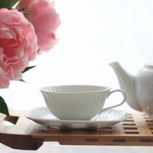 深山(miyama.) hoyara-ほやら- ティーカップとソーサーのセット 白磁 美濃焼 洋食器 モダン ティーカップ&ソーサー MIRAGE-STYLE  当店オススメ mirage-style