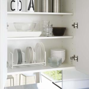 ディッシュラック タワー ワイド 2色 Sサイズ キッチン用品 収納 3147(W) 3148(B) YZ mirage-style