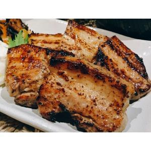 塩麹漬け豚バラ厚切り肉[無添加・チルド]500g (250g×2袋) 真空パック 小分け 焼くだけ簡単 ギフト 贈り物 バーベキュー お弁当 クール便|mirai-bin