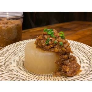 豚屋の自家製肉みそ 380g  無化調 保存料無添加 クール便|mirai-bin