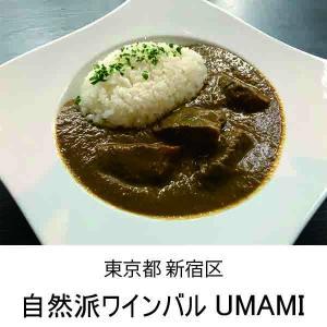 UMAMI特製!うま味たっぷり◎黒毛和牛の本格スパイシーカレー / 8食入り(200gx8) mirai-bin