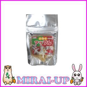 【黒瀬ペットフード】自然派宣言 おやつドライアップル mirai-up