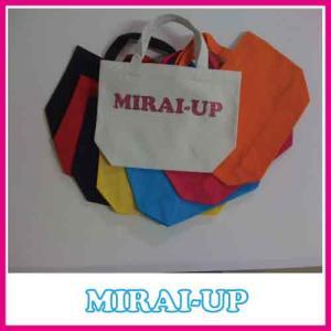 トートバッグ(厚手で丈夫な無漂白キャンバス)30%OFF mirai-up