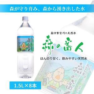 森の番人 1.5L×8本|mirai-water