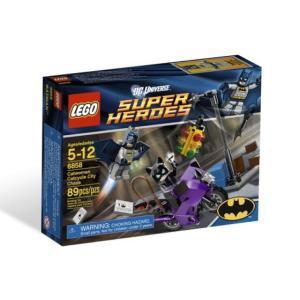 レゴ スーパーヒーローズ 6858 キャットウーマンのシティーチェイス|miraiya05