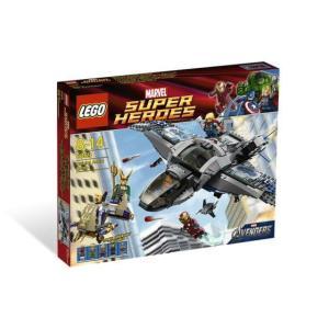 レゴ スーパーヒーローズ 6869 クインジェットでの空中バトル|miraiya05