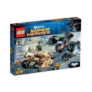 レゴ スーパーヒーローズ 76001 バットマン vs ベイン : タンブラー・チェイス|miraiya05