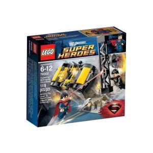 レゴ スーパーヒーローズ 76002 スーパーマン:メトロポリス・ショーダウン|miraiya05