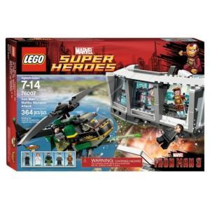 レゴ スーパーヒーローズ 76007 アイアンマン : マリブのマンションアタック|miraiya05