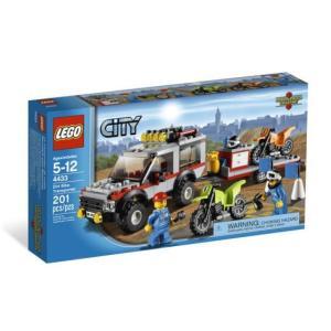 レゴ シティ 4433 4WDバイクキャリアー miraiya05