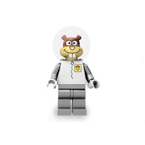 レゴ SpongeBob SquarePants サンディ・チークス 宇宙服/青灰ズボン - ミニフィグ (1d2)【メール便可】|miraiya05