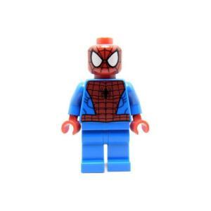 レゴ スーパーヒーローズ スパイダーマン(黒い蜘蛛の糸バージョン) - ミニフィグ (1z143)【メール便可】|miraiya05